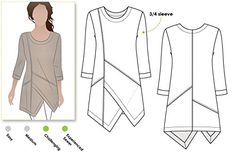 Style Arc Sewing Pattern - Lani Woven Tunic (Sizes 04-16) - Click for Other Sizes Available Style Arc http://www.amazon.com/dp/B015MA6D6W/ref=cm_sw_r_pi_dp_BWQswb1381KGG