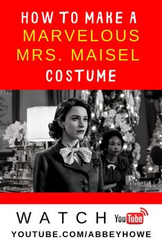 Watch to see 4 vintage fashion looks inspired by the fabulous Midge Maisel in Amazon Prime's The Marvelous Mrs. Maisel. These DIY costumes are my attempt to mimic the late 1950's style created by this award winning show. These are some simple ways to bring some marvelous retro flair into your everyday life or to put together a timely Halloween costume! #mrsmaisel #marvelous #HoweFunny #Halloween #costume #halloweencostume #midgemaisel Halloween Make, Diy Halloween Costumes, Housewife Costume, 1950s Housewife, Authentic Costumes, Cosplay Tutorial, Family Crafts, Vintage Fashion, Party