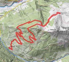 BERGFEX-Rundweg Alpe Steris (von Marul Ortszentrum) - Wanderung - Tour Vorarlberg Map, House Of Lords, Centre, Oder, Tours, Maps
