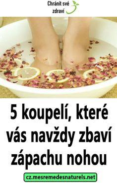 5 koupelí, které vás navždy zbaví zápachu nohou Detox, Sport, Breakfast, Health, Food, Breakfast Cafe, Salud, Meal, Health Care