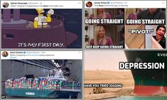 Social media pokes fun at Suez Canal ship and digger trying to free it Just Keep Going, Farm Hero Saga, Digger, Off The Wall, Author, Social Media, Ship, News, Fun