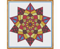 Mandala 5 Confidence Counted Cross Stitch Pattern