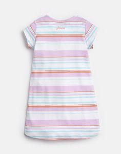 KAYE Short Sleeve Jersey Applique Dress 1-6 Yr Joules Girls, Joules Uk, Applique Dress, Short, Shirt Dress, Sleeves, Cotton, Dresses, Fashion