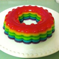 Jelly Cake ~ great idea for dairy free / gluten free kids! Use diet jelly for low/no sugar option too!