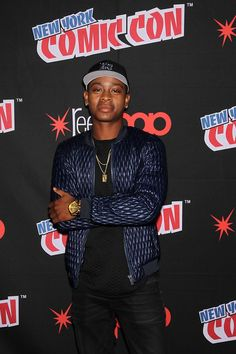 RJ Cyler at the panel. Rj Cyler, Power Rangers Movie, Fiction, It Cast, Movie Posters, Film Poster, Billboard, Film Posters, Fiction Writing