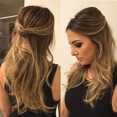 #penteadosx#penteando#wella#beauty#hairdo#equipejanainamendes#equipediamantrouge