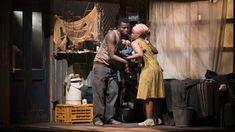 Tsotsi (Mxolisi 'Zuluboy' Majozi) enlists the help of Miriam (Kgomotso 'Momo' Matsunyane) - a woman from Zimbabwe searching for her husband - to care for the baby.