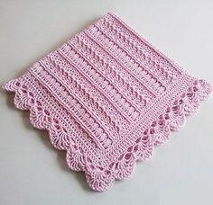 Mayflower Baby Blanket Free Crochet Pattern