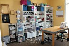 garage made into sewing room - Google Search