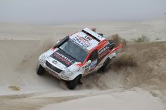 Toyota Hilux At The 2013 Dakar Rally