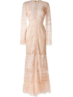 Shop Elie Saab 'Melrose' lace dress  in Cara from the world's best independent boutiques at farfetch.com. Shop 400 boutiques at one address.