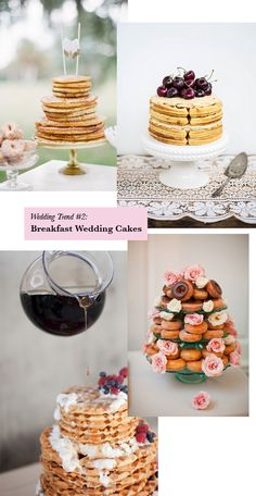 Ok these are for weddings but i can totally see a brunch bday party idea here too!!