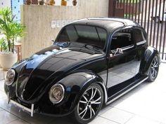 Fuscão Preto (Big Black Beetle)