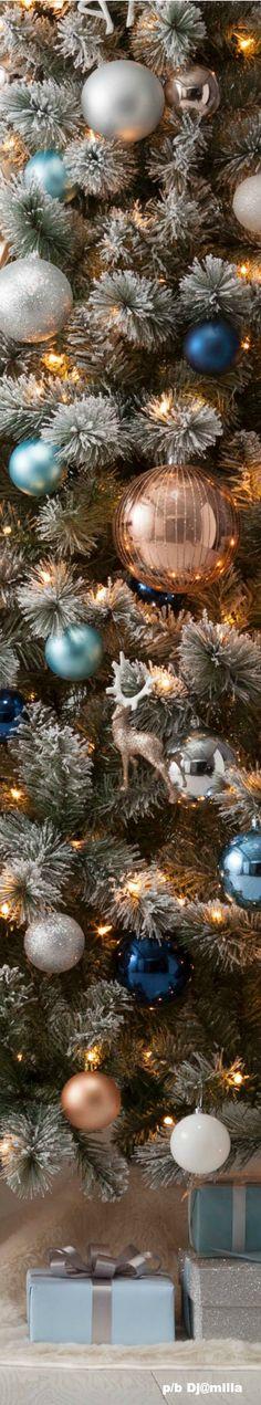 Love the copper ornaments