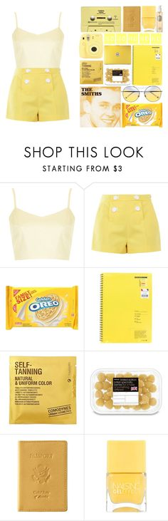 """...i'm tired of feeling like i'm fcking crazy..."" by itzemmiebruh on Polyvore featuring Topshop, Boutique Moschino, Comodynes, Fujifilm, CASSETTE, Royce Leather, Nails Inc. and Diptyque"