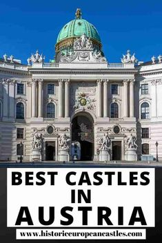 Best Castles in Austria - Historic European Castles European Travel Tips, Travel Tips For Europe, European Destination, Travel Destinations, Travel Abroad, Visit Austria, Austria Travel, Travel Guides, Travel Info