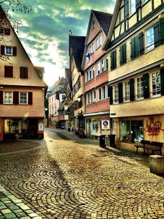 Tübingen, Tübingen, Germany - Late afternoon light in Tübingen, a fun and charming little city!#architecture