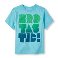 Boys Short Sleeve 'Brotastic!' Graphic Tee