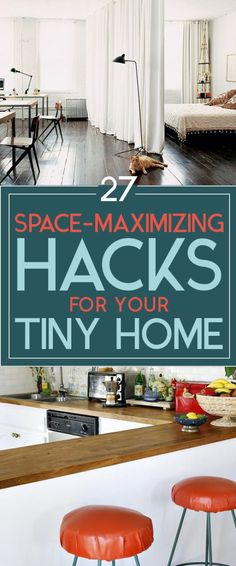 27 ways to maximize smalll space