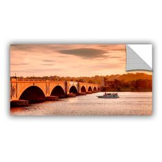 ArtApeelz River Cruise At Sunset by Steve Ainsworth Photographic Print on Canvas