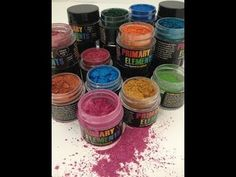 Introducing Primary Elements Artist Pigments-A quick video to share with you, several easy ways to use Primary Elements Artist Pigments by Luminarte http://w...