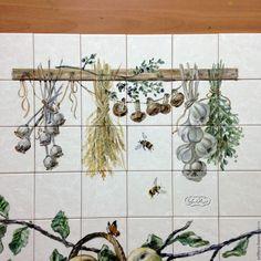 Provence Kitchen, Tiles, Furniture, Pintura, Room Tiles, Tile, Home Furnishings, Backsplash, Arredamento