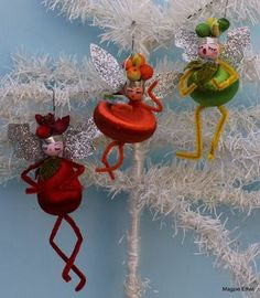 Magpie Ethel's magic creations