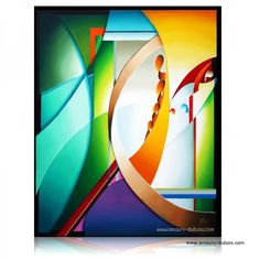 Abstract Painting Up or down