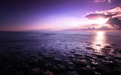 Purple Seascape - Best of Wallpapers for Andriod and ios Beach Wallpaper, Most Beautiful Wallpaper, Great Backgrounds, Natural Wonders, Beautiful Landscapes, Background Images, Science Nature, Mother Nature, Airplane View