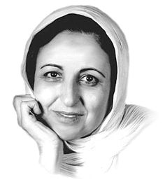 """I maintain that nothing useful and lasting can emerge from violence."" -  Shirin Ebadi, 2003 Nobel Peace Prize Winner"