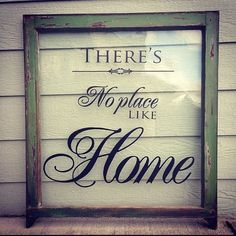 Vintage window project with vinyl letters  #restlessandrefurbished