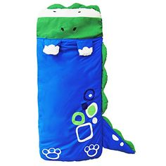 ZJKC® 55''x24'' Cartoon Kids Slumber Bags Dinosaur Pattern Portable Indoor and Outdoor Baby Children Sleeping Bag - $38.98