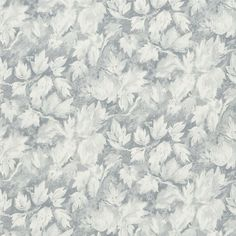 fresco leaf - graphite wallpaper | Designers Guild