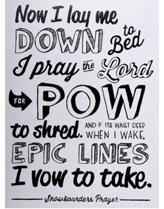 powder prayer