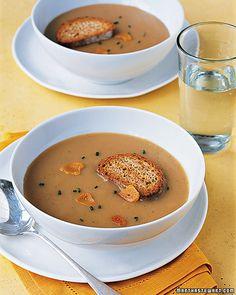Roasted-Garlic Soup   Whole Living