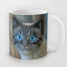Shop micklyn's store featuring unique designs on various products across art prints, tech accessories, apparels, and home decor goods. Sad Cat, Sad Kitty, Cat Mug, All About Cats, Looking For Love, Cool Cats, Tech Accessories, Art Prints, Mugs