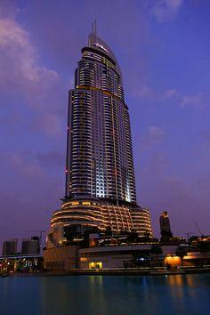 DUBAI, UAE. The Address Downtown Hotel. Photo by Qais Alamar (in Flick).