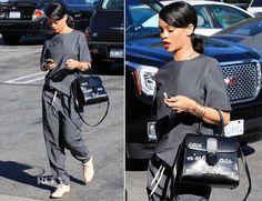 Rihanna In Alexander Wang – Le Petit Four