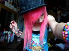 pink. Hannah Hacksaw