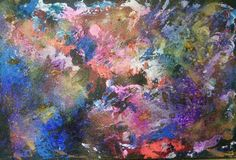 'At the beginning' acrylic painting by Lynda Colley Originals