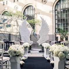 Event design inspiration for a luxe black and white wedding Wedding Ceremony Ideas, Wedding Altars, Ceremony Arch, Ceremony Decorations, Wedding Wows, Wedding Stage, Wedding Events, Dream Wedding, Weddings