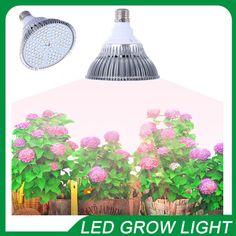 전체 스펙트럼 led 식물 성장 램프 e27 18 와트 30 와트 50 와트 80 와트 led 원예 성장 fitolampa 꽃 수경 시스템