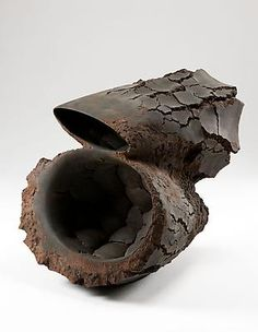 Metavoid 19, 2011 Stoneware with iron-filings 28 x 22 1/2 x 29 1/8 inches Inv# 6895 SOLD