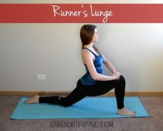 These easy hip flexor stretches are yoga poses that will help you keep your hip flexors feeling happy.