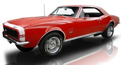 67 Camaro - Bolero Red