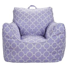 Circo Bean Bag Chair - Lavender Quatrefoil with Removable Cover - for Rory ' s birthday
