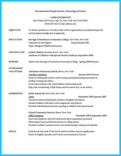 there are several parts of assistant teacher resume to concern before you want to write it - Teacher Resume Skills