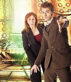 My favorite Doctor & my favorite companion.  Catherine Tate & David Tennant