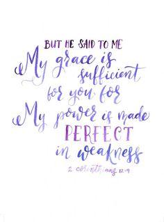 "2 Corinthians 12:9 "" ....My grace is sufficient for you,....""   Seek - a Pursuit Community 21 day Devotional - DAY 5:"