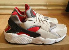 save off b7a3b 37948 Grey-Red Jordan Shoes For Men, Air Jordan Shoes, Sneaker Bar, Red